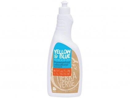 Pomerančový odmašťovač – koncentrát 750ml Tiera Verde