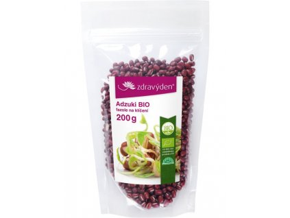 Adzuki BIO - fazole na klíčení 200g Zdravý den