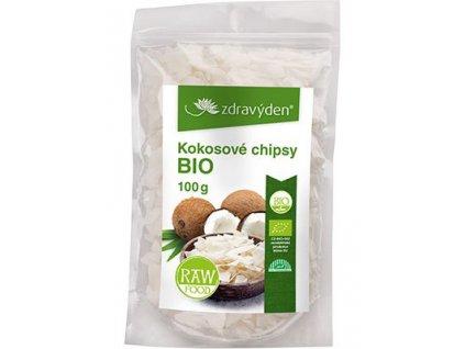 Kokosové chipsy BIO 100g Zdravý den
