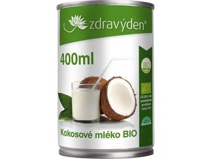 Kokosové mléko BIO 400ml Zdravý den