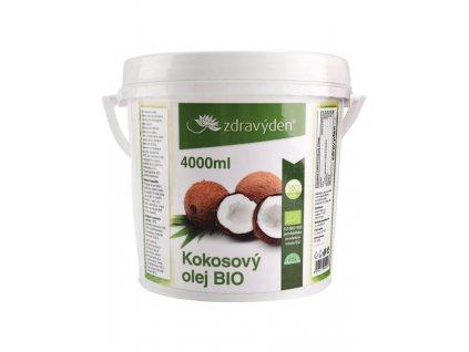 Kokosový olej BIO 4000ml Zdravý den