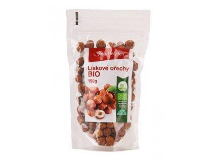 Lískové ořechy BIO 150g Zdravý den