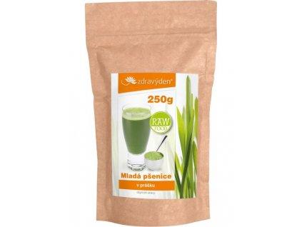 Mladá pšenice 250g Zdravý den