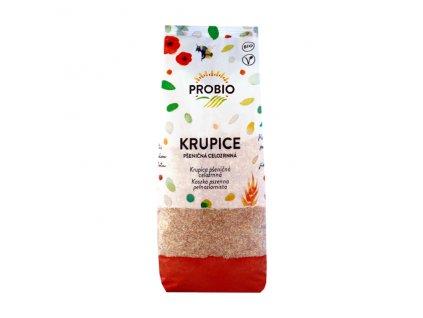 AKCE Krupice pšeničná celozrnná 400 g BIO PROBIO