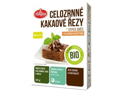 Akce Celozrnné kakaové řezy (sypká směs) 425 g BIO AMYLON