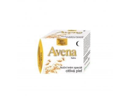 Noční krém speciál citlivá pleť Avena sativa 51 ml Bione Cosmetics
