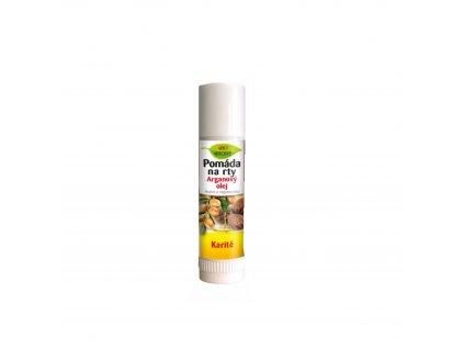 Pomáda na rty arganový olej + karité 17 ml Bione Cosmetics
