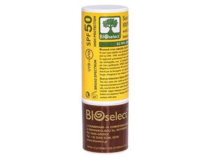 BIOselect® 100% přírodní balzám na rty s vysokou ochranou proti slunci 15ml SPF50 BIOselect®