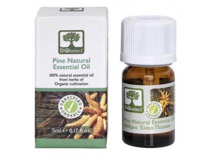 BIOselect prirodni BIO esencialni borovicovy olej GreekMarket