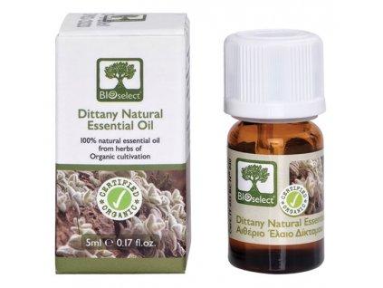 BIOselect® 100% přírodní BIO diktamový esenciální olej 5ml BIOselect®