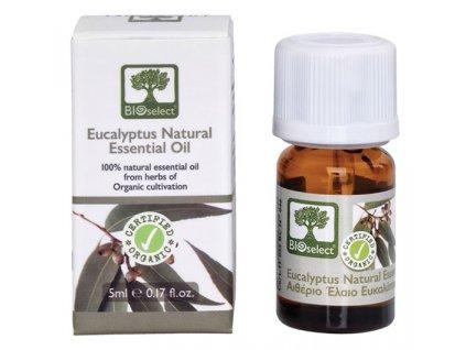 BIOselect® 100% přírodní BIO esenciální eukalyptový olej 5ml BIOselect®
