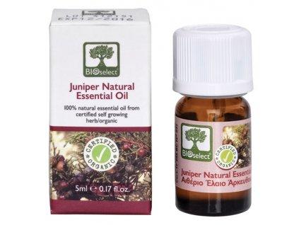 BIOselect® 100% přírodní BIO jalovcový esenciální olej 5ml BIOselect®