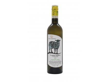 Nico Lazaridi vinařství Bílé suché víno BLACK SHEEP 2019 NICO LAZARIDI 750ml