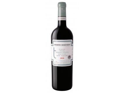 Bílé suché víno Fourth Dimension 2018 Assyrtiko - Sauvignon Blanc P.D.O Makedonia 750ml KECHRIS