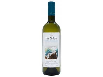 Nico Lazaridi vinařství Bílé suché víno CHATEAU 2019 NICO LAZARIDI 750ml