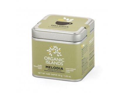 BIO bylinkový čaj MELODIA z Naxosu 30g ORGANIC ISLANDS