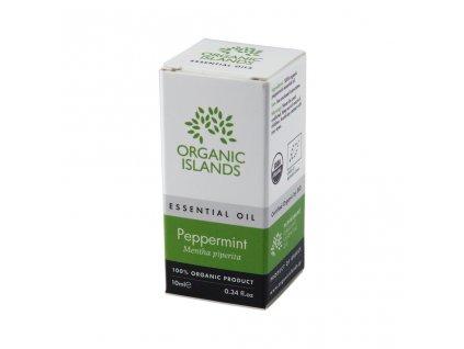 BIO esenciální olej z máty z Naxosu 10ml ORGANIC ISLANDS