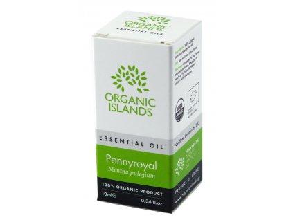 BIO esenciální olej z Poleje obecné z Naxosu 10ml ORGANIC ISLANDS