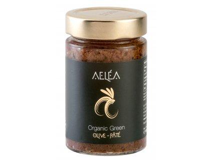 BIO olivová pasta ze zelených oliv 180g TRÉSORS DE GRÉCE