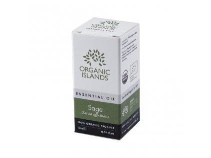 BIO šalvějový esenciální olej z Naxosu 10ml ORGANIC ISLANDS