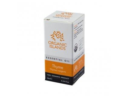 BIO tymiánový esenciální olej z Naxosu 10ml ORGANIC ISLANDS