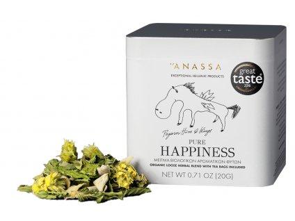 Anassa Organic Tea BIO bylinkový čaj PURE HAPPINESS 20g ANASSA