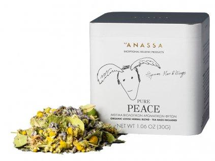 Anassa Organic Tea BIO bylinkový čaj PURE PEACE 30g ANASSA