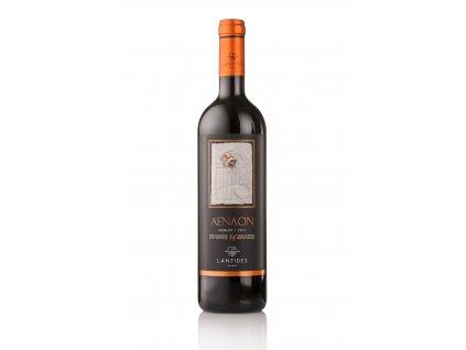 Lantides Winery Červené suché víno AENAON Merlot 2016 LANTIDES 750 ml