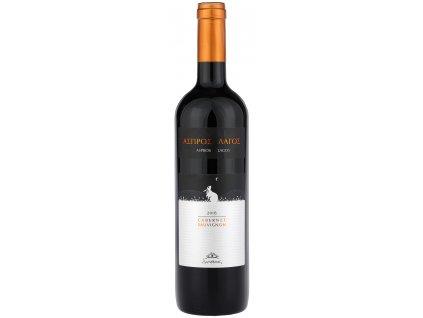Douloufakis Winery Červené suché víno Aspros Lagos 2016 750ml DOULOUFAKIS