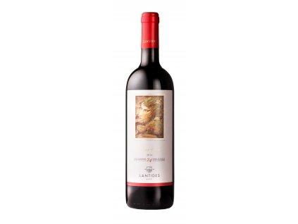 Lantides Winery Červené suché víno CUVEE Cabernet Sauvignon & Merlot & Agiorgitiko 2016 LANTIDES 750 ml
