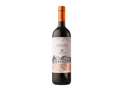 Lantides Winery Červené suché víno GOLDVINE Cabernet Sauvignon 2018 LANTIDES 750 ml