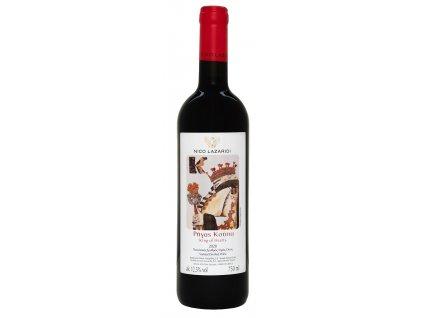 Nico Lazaridi vinařství Červené suché víno KING OF HEARTS 2019 NICO LAZARIDI 750ml