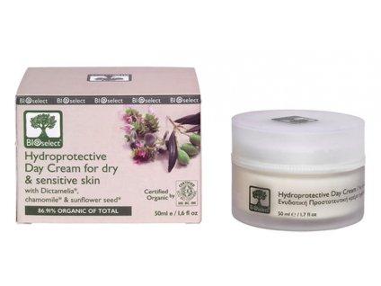 BIOselect® Denní krém pro suchou a citlivou pokožku 50ml BIOselect®