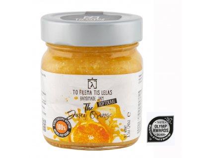 Domácí pomerančová marmeláda bez cukru 240g TO FILEMA TIS LELAS