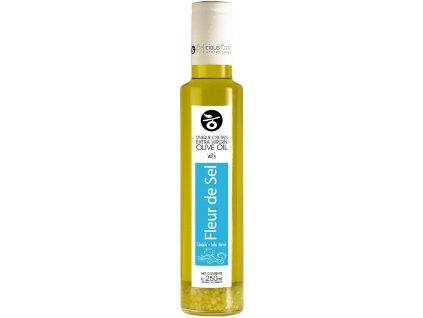 Extra panenský olivový olej s květy mořské soli 250ml DELICIOUS CRETE
