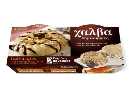Chalva dortíky s čokoládou a vanilkou 200g KANDYLAS
