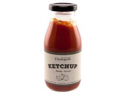 Jemný domácí kečup s medem a extra panenským olivovým olejem 280g DOLOPIA
