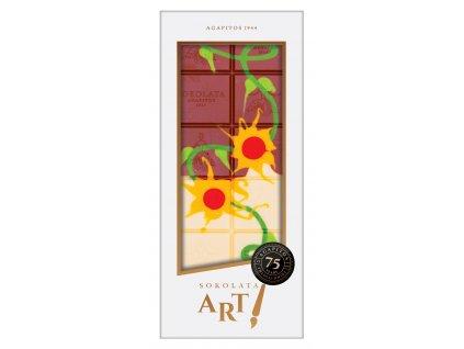 Mléčná a bílá čokoláda Nature Design 100gr SOKOLATA AGAPITOS