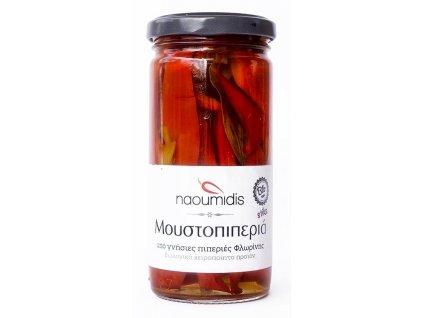 Naoumidis Piperia Florinis Moustopiperia - BIO červené florina papriky 260g NAOUMIDIS