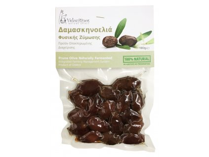 Family farms Olivy Prune z Argolidy fermentované 180gr Velouitinos