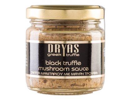 Dryas truffle Omáčka z hub portobello s černým řeckým lanýžem 80g DRYAS