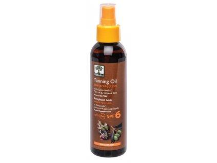 BIOselect® Opalovací olej s nízkým faktorem SPF 6 150ml BIOselect