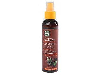 BIOselect® Opalovací olej se střední ochranou SPF 15 150ml BIOselect