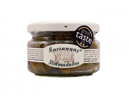 Marianna´s Wineleaves Plněné vinné listy BIO 200g Marianna's Vineleaves