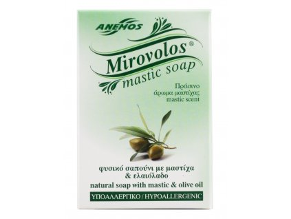 Anemos Přírodní hypoalergické mýdlo s mastichou a olivovým olejem 100gr MIROVOLOS