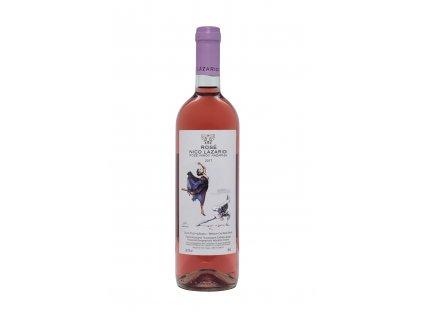 Nico Lazaridi vinařství Růžové polosuché víno ROSE 2020 NICO LAZARIDI 750ml