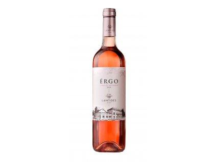 Lantides Winery Růžové suché víno ÉRGO Cabernet Sauvignon 2018 LANTIDES 750ml