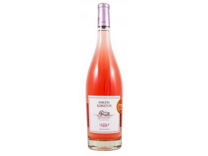 Lantides Winery Růžové suché víno LITTLE ARK Moschofilero 2019 LANTIDES 750 ml