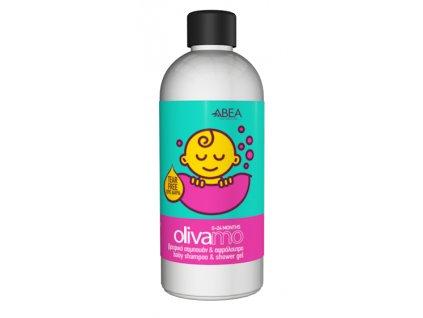 Šampón a sprchový gel Oliva pro miminka 300ml ABEA