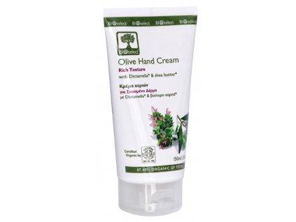 BIOselect® Výživný krém na ruce s olivovým olejem 150ml BIOselect®